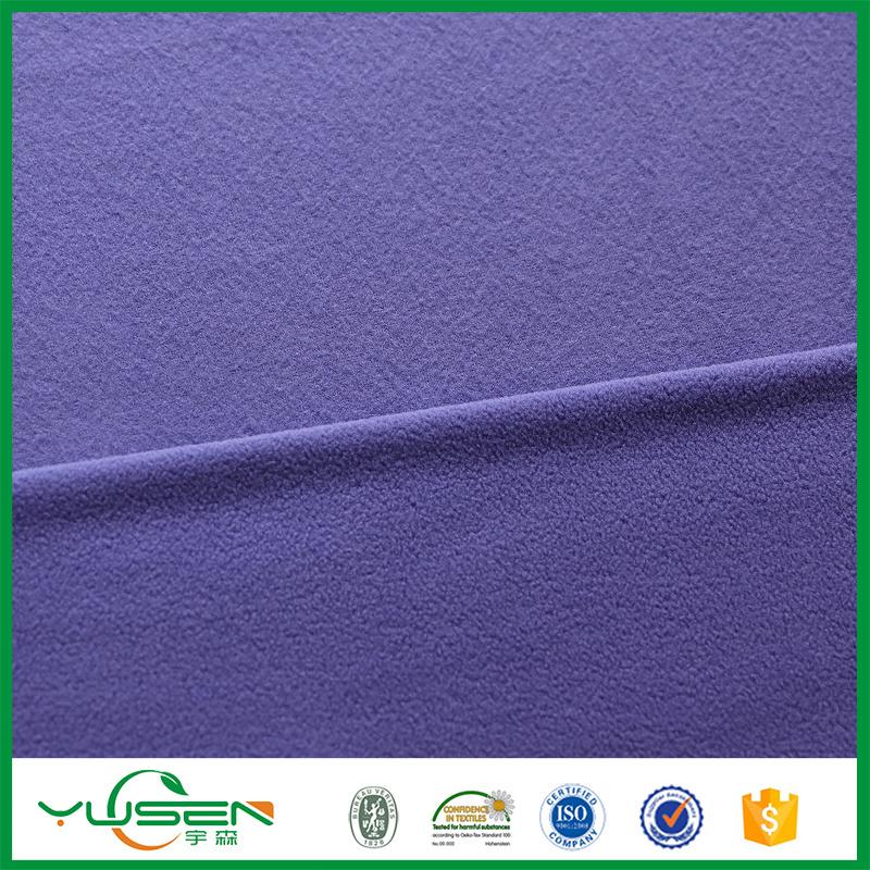 China Alibaba Top 10 Manufacturers Fabric Grid Thick Polar Fleece