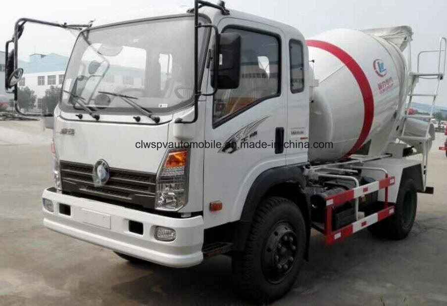 Small Cement Truck 5 Cubic Meters Concrete Mixer Truck Price