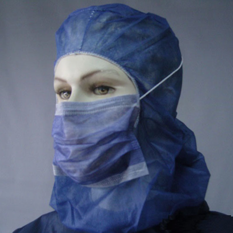 Nonwoven Disposable Bouffant Caps for Surgical