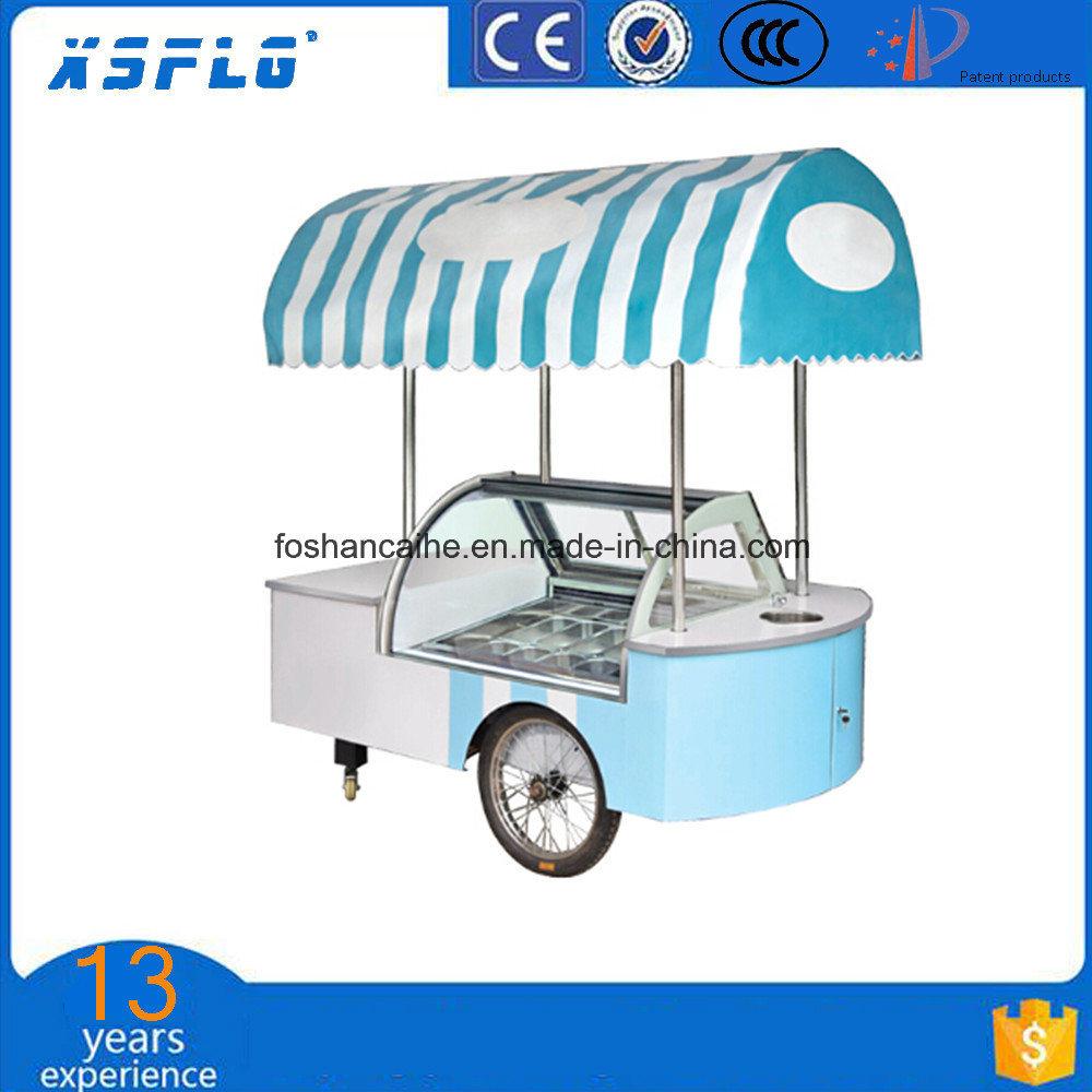Popsicle Freezer Cart/Ice Cream Stick Display