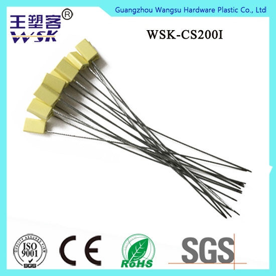 Adjustable Self-Locking Bar Code Print Container Cable Seal