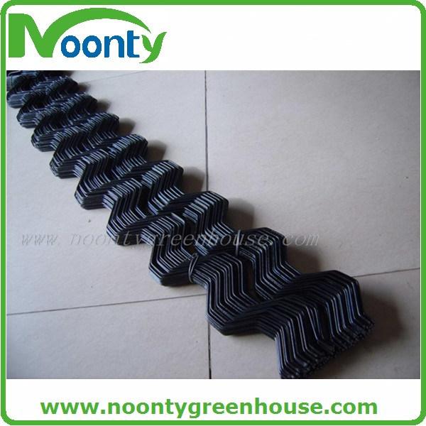 Greenhouse Zigzag Film Lock Plastic Coated Wiggle Wire