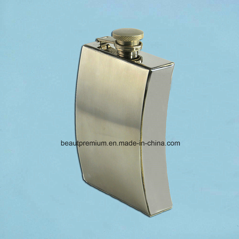 Customized Different Shape Flagon Stainless Steel Hip Flask BPS0183