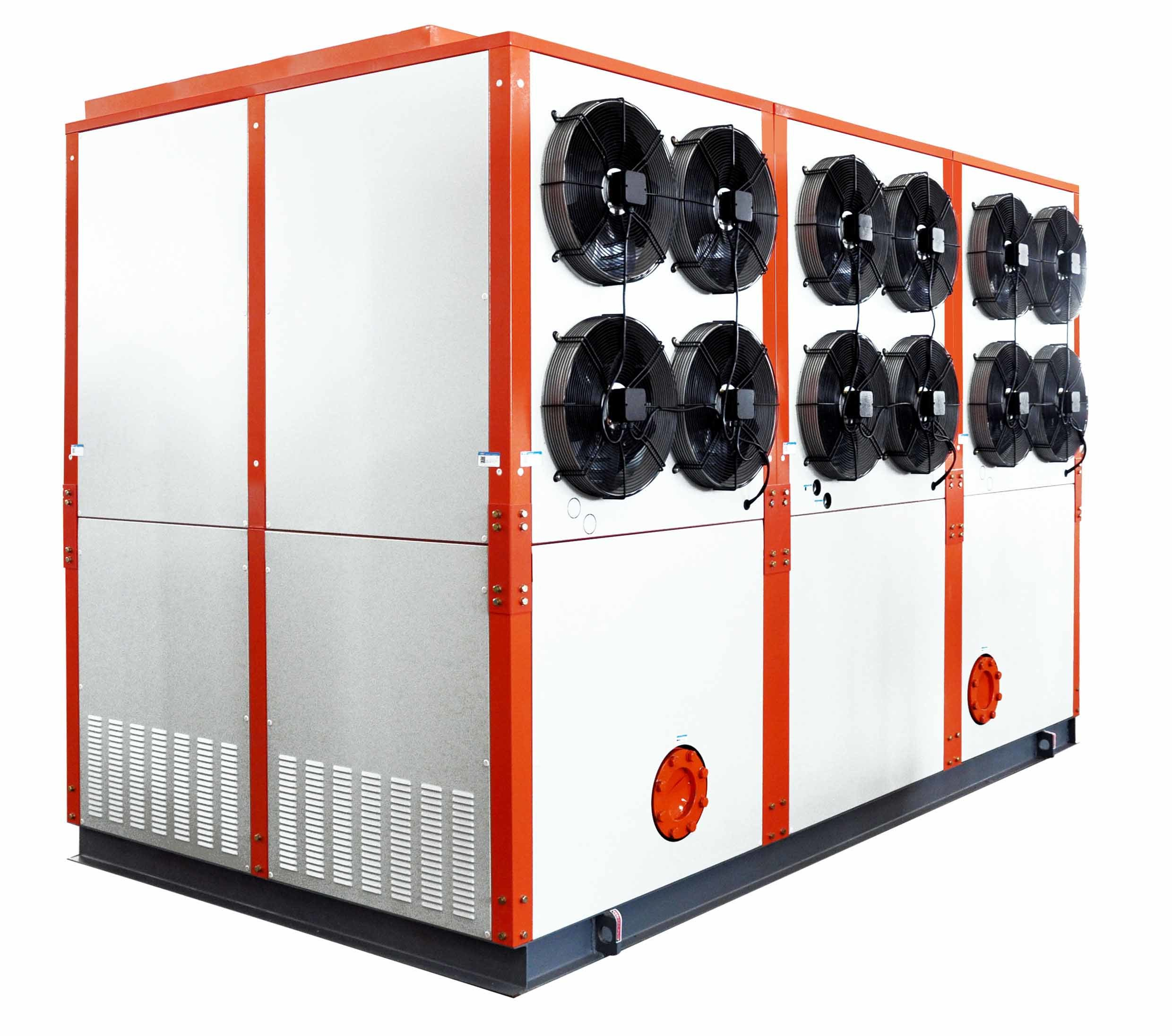 R22 Industrial Customized High Efficiency Energy Saving Intergrated Evaporative Cooled Water Chiller System with Flooded Evaporator