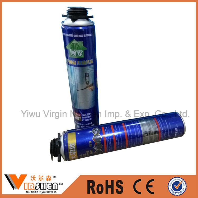 High Density 750ml Polyurethane Spray Foam for Construction