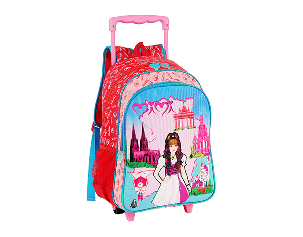 Roling School Backpacks for Girls (BF1608313/BF1608314/BF1608315)