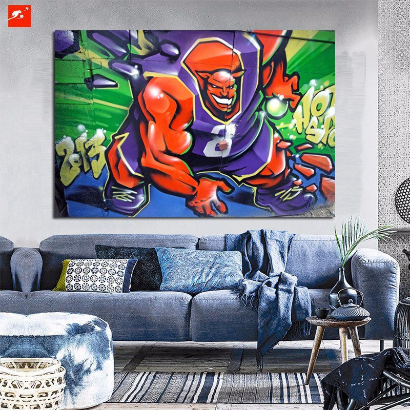 Animated Character Canvas Art Print