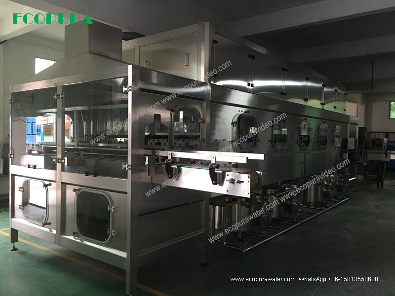 18.9L Complete Water Filling Line / 5 Gallon Bottling Machine