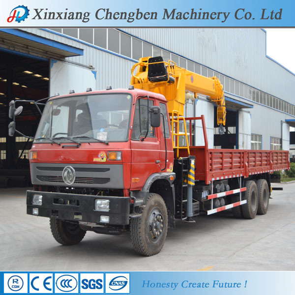 Best 10 Tons Mobile Truck Mounted Crane with Manipulator