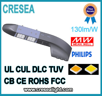 UL cUL Dlc 80W 120W 160W 200W LED Street Light