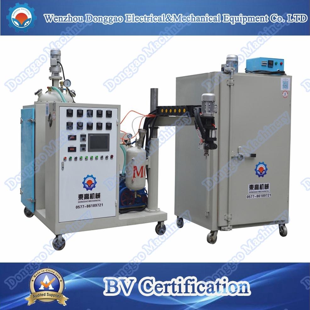Oven Type High Temperature PU Elastomer Casting Machine
