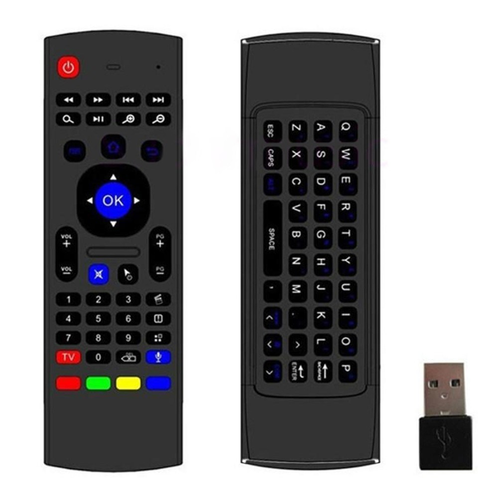 Mx3 Fly Air Mouse 2.4GHz Sensors Mini Wireless Keyboard for TV Box
