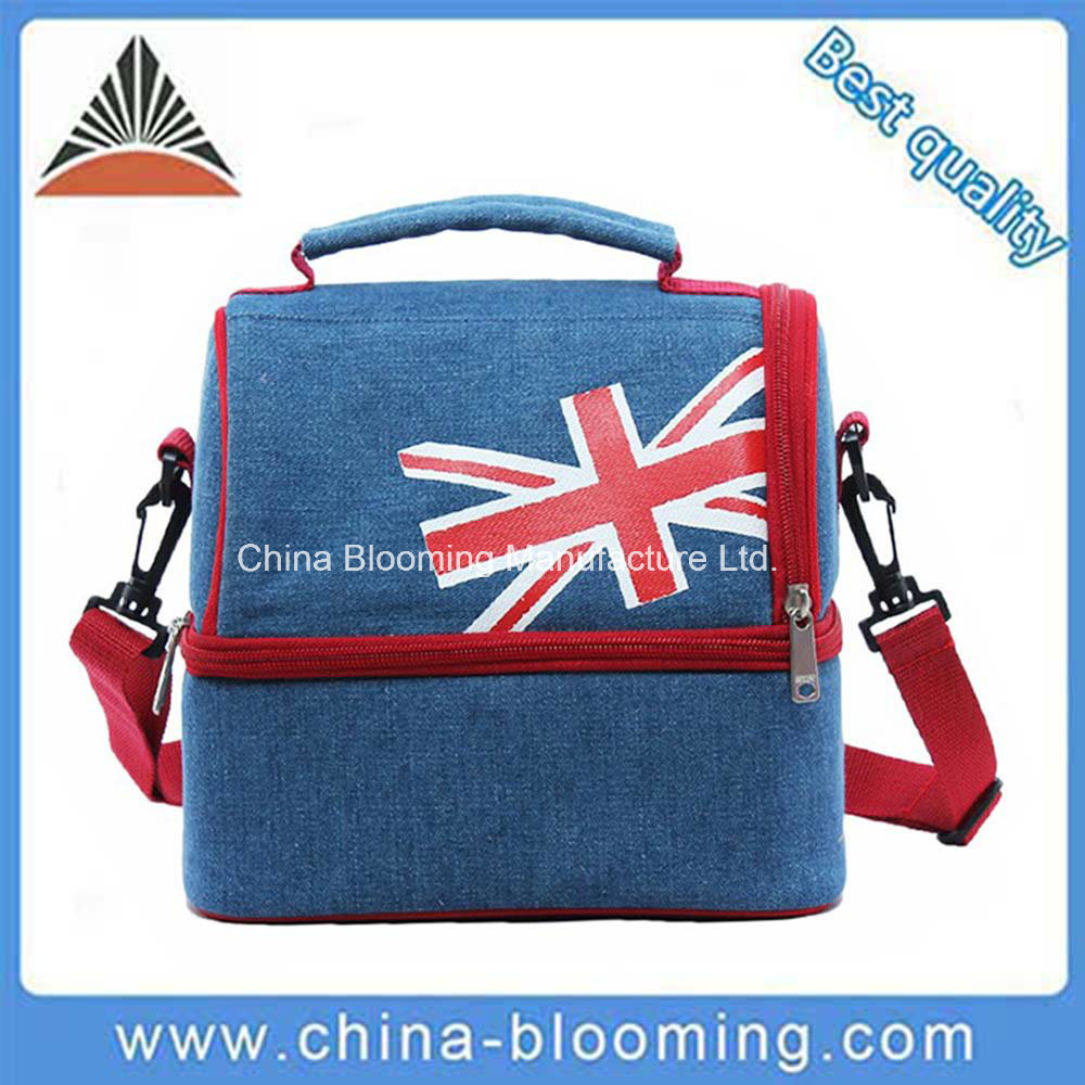 600d Polyester Insulated Shoulder Lunch Picnic Bag