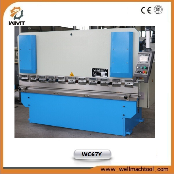 Wc67y-100/2500 CNC Hydraulic Press Brake for Metal Plate Bending