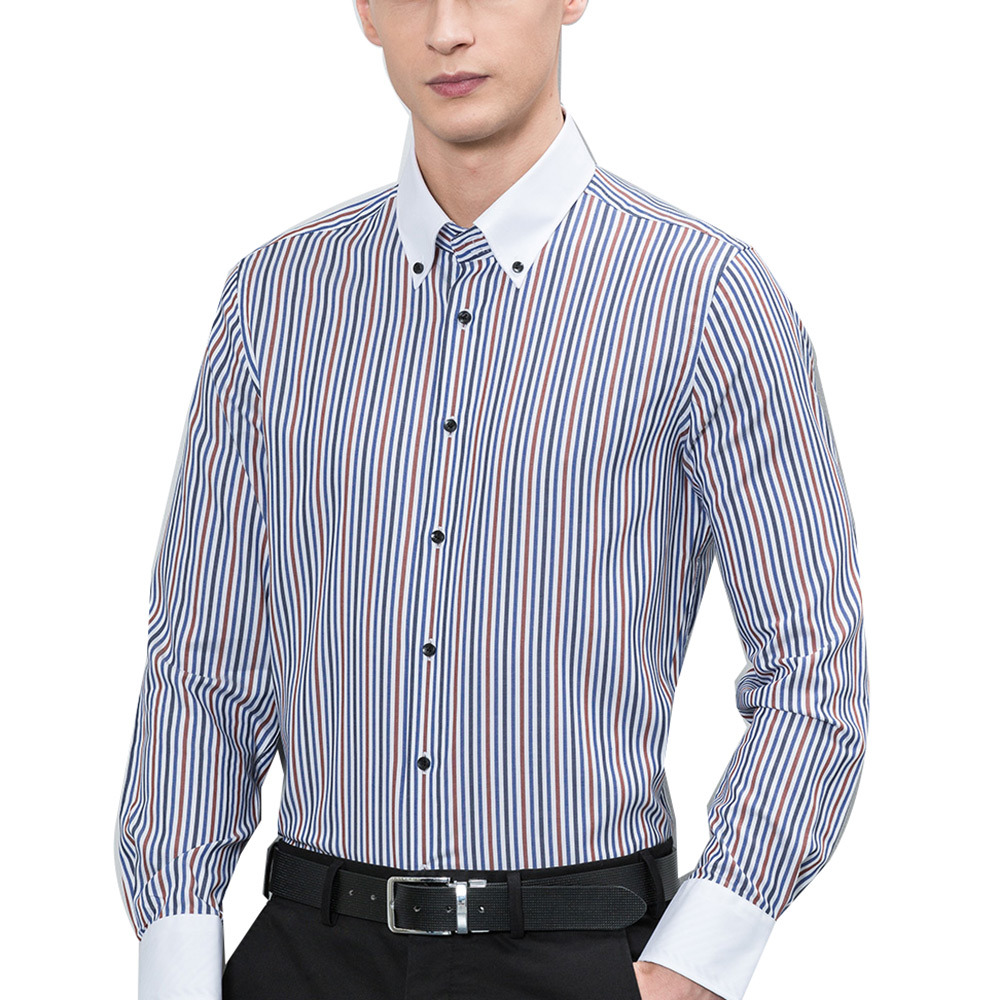 Factory OEM Men Dress Shirts Cotton Casual Shirts