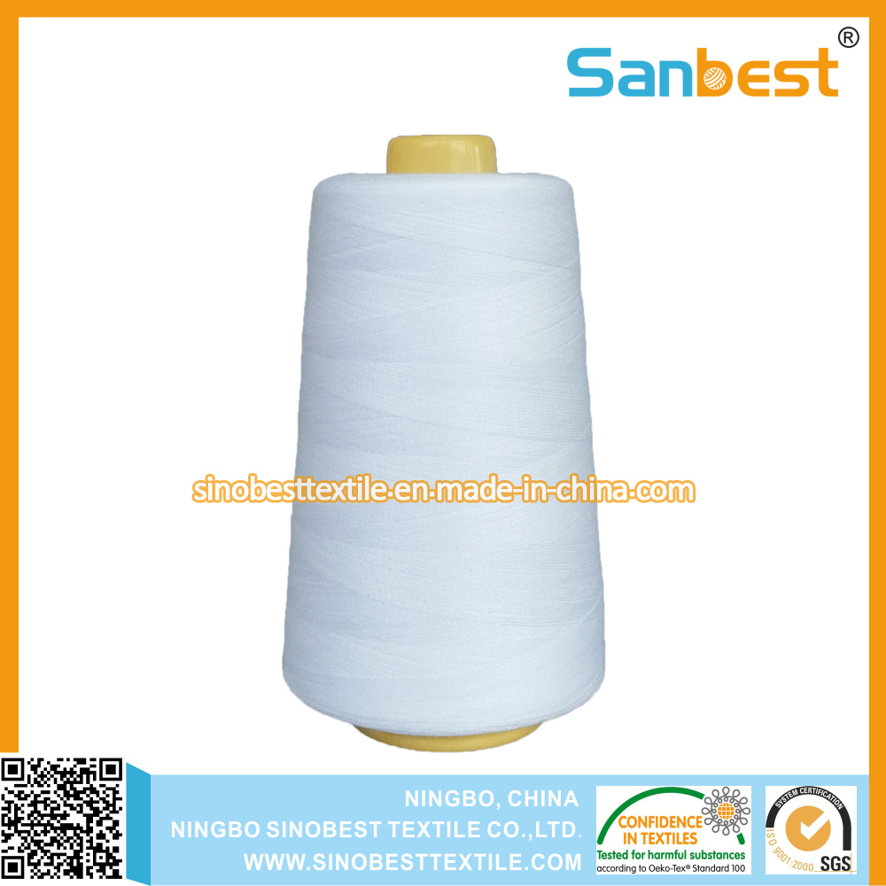 100% Spun Polyester Sewing Thread with Lubrication Accurate Length