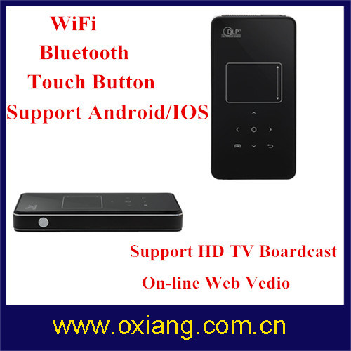 1080P DLP Mini Pocket Bluetooth Projector Mini Smart WiFi Projector