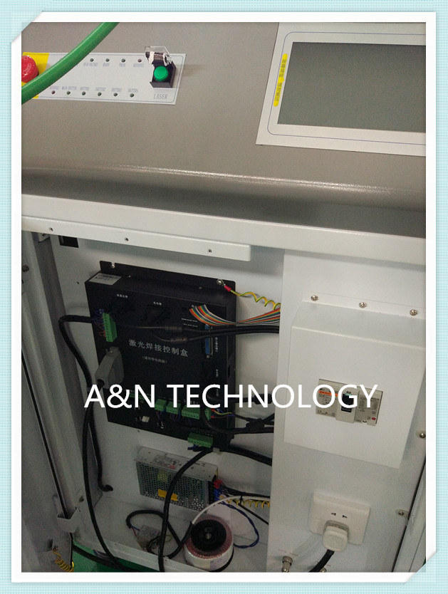 A&N 300W Optical Fiber Laser Welding Machine with Galvanometer