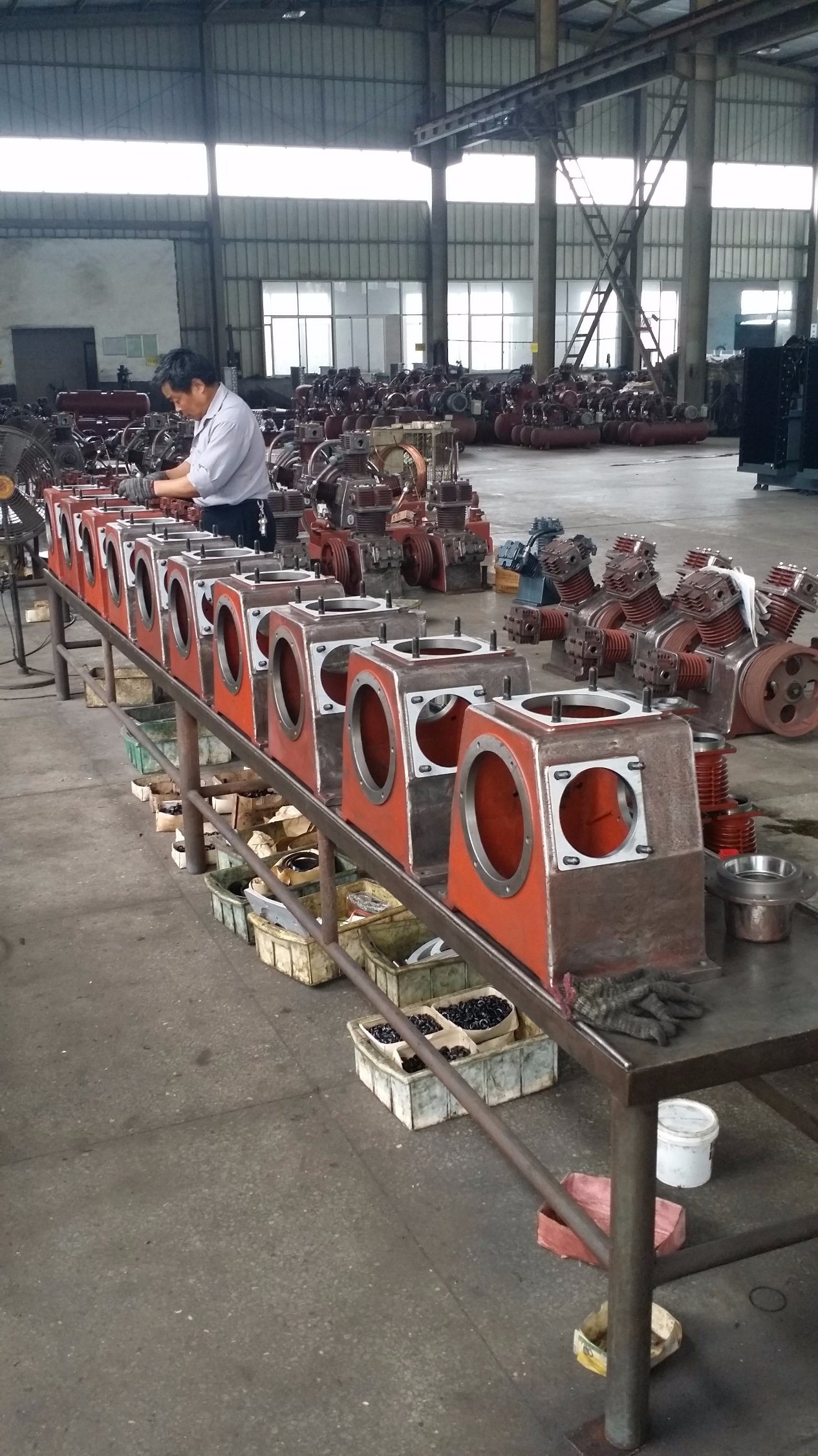 4.0MPa 40bar Air Compressor for Beverage Industry