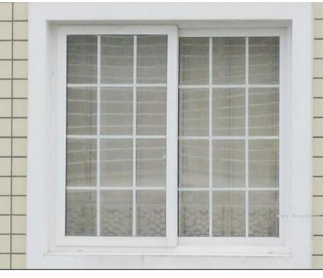 Double Glazing Aluminum / Aluminium Metal Fixed Glass Sliding & Casement Window with Grils