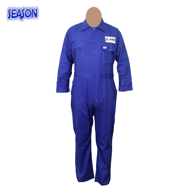 Sky Blue Overall, Coverall Safety, Protective Working Clothes Coverall Workwear