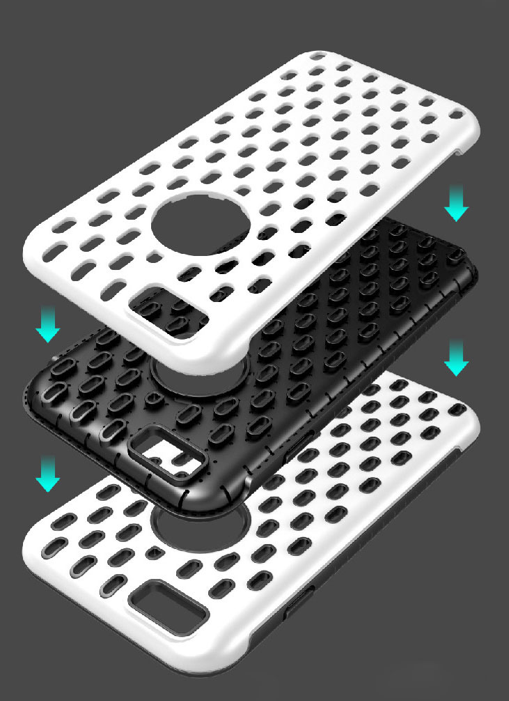 Hollow High Quantity Cell Phone Case for iPhone 6s/6 Plus