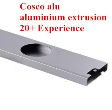 Customized Aluminum Profile Extrusion with CNC Machining (ISO9001: 2008)