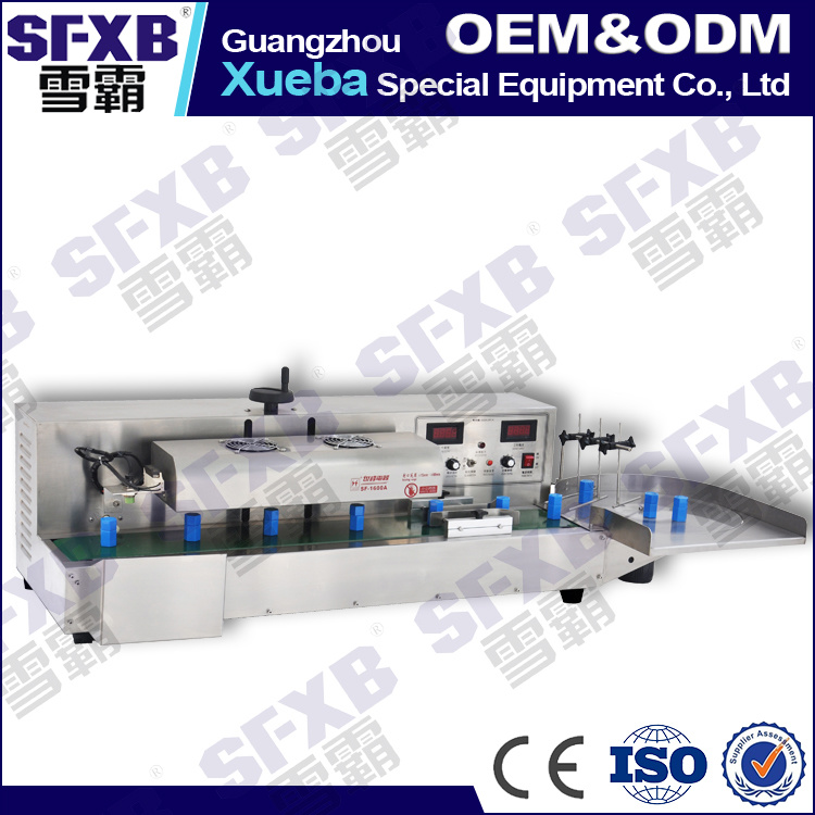Sf-1600 Desktop Automatic Aluminum Foil Bottle Sealing Machine