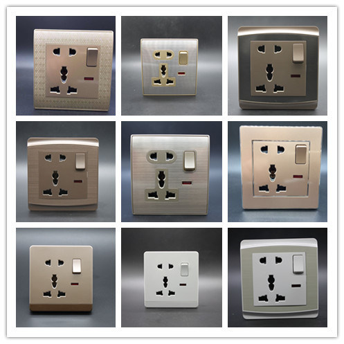 One Gang 5 in Switch Socket