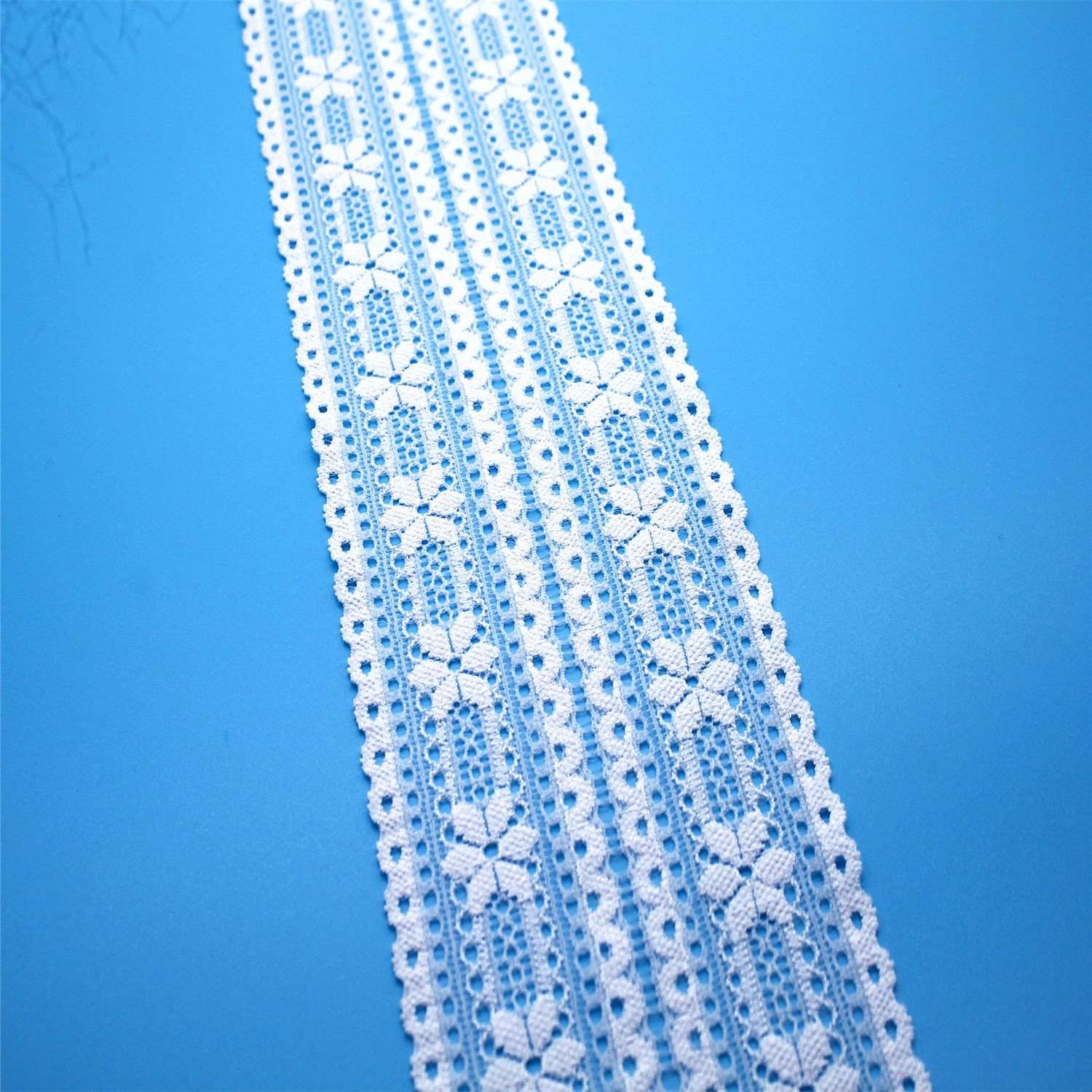 Hot Sales Cheap Elastic Lace Trimming for Garment