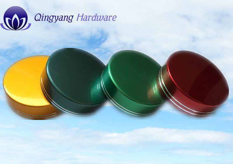 Colorful Aluminum Bottle Cap for Cosmetic Jar & Bottle