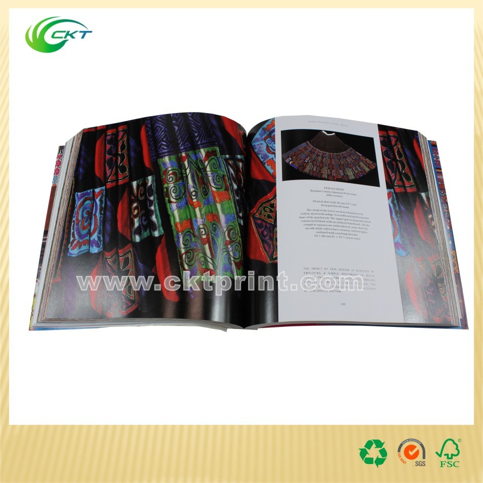 Perfect Binding Magazine Printing with UV Coated (CKT-BK-719)