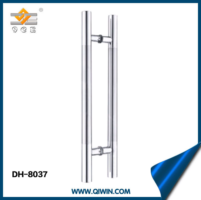 Stainless Steel Door Handle with Middle Satin Pull Handle (DH-8037)