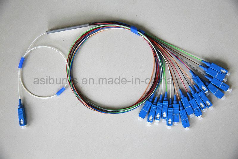 1X 4/8/16/32/64 Multi-Channel Optical PLC Splitter