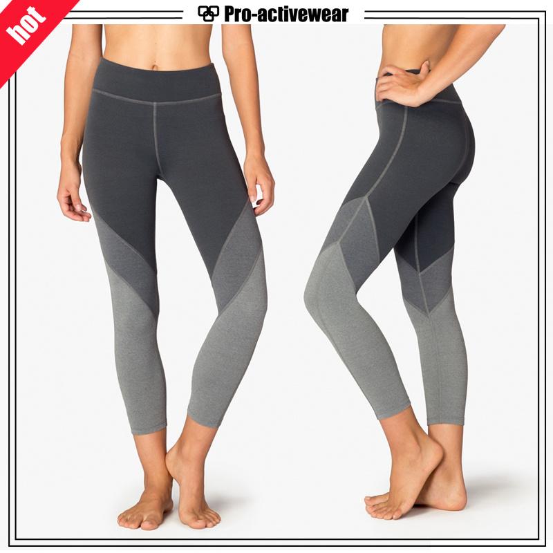 Whoelsale Quick Dry Fashion Women Mesh Yoga Pants Leggings