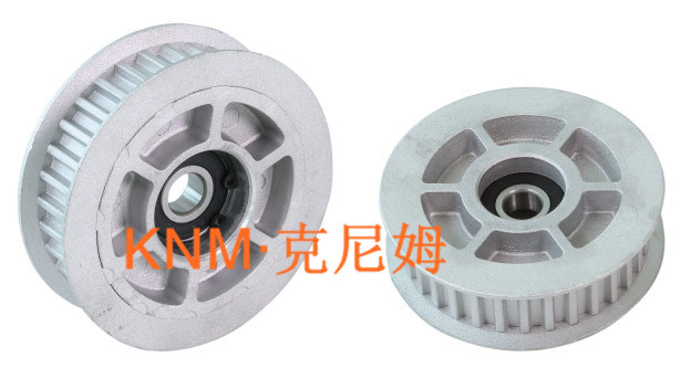Elevator Part Elevator Synchronous Belt Driven Wheel Km003