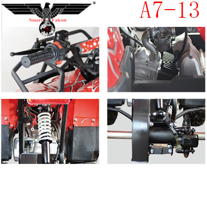 A7-13 110cc Automatic Gas ATV Quad