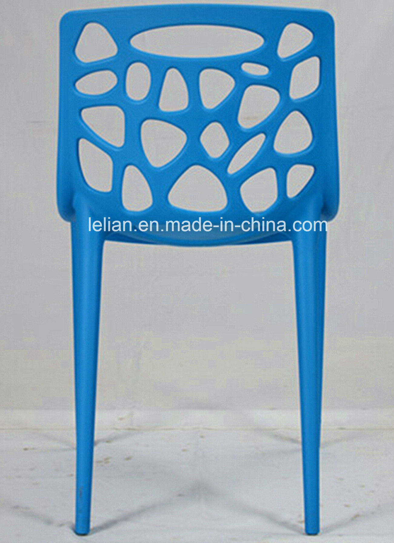 Plastic Stacking Side Chair with Whole PP Design (LL-0038)