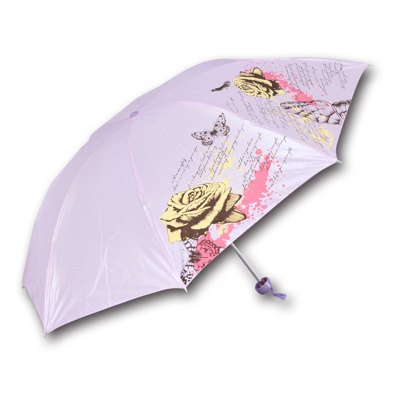 Factory Promotional Small 3 Folds Cheap Gift Umbrella