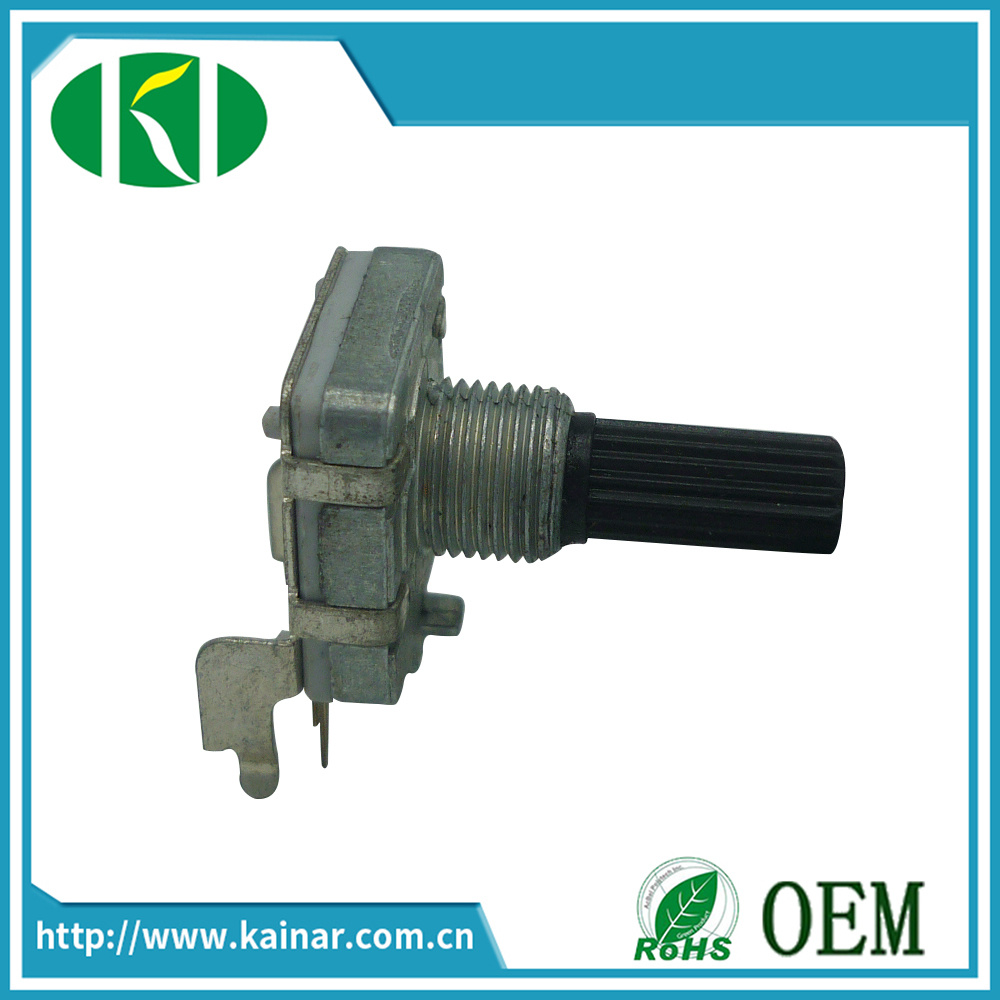 16mm Rotary Encoder with Bracket Insulated Shaft Ec16-2