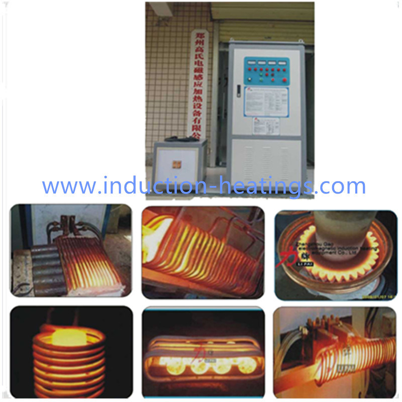 Three Phase Medium Frequency Induction Heating Generator for Connecting Rods Forging