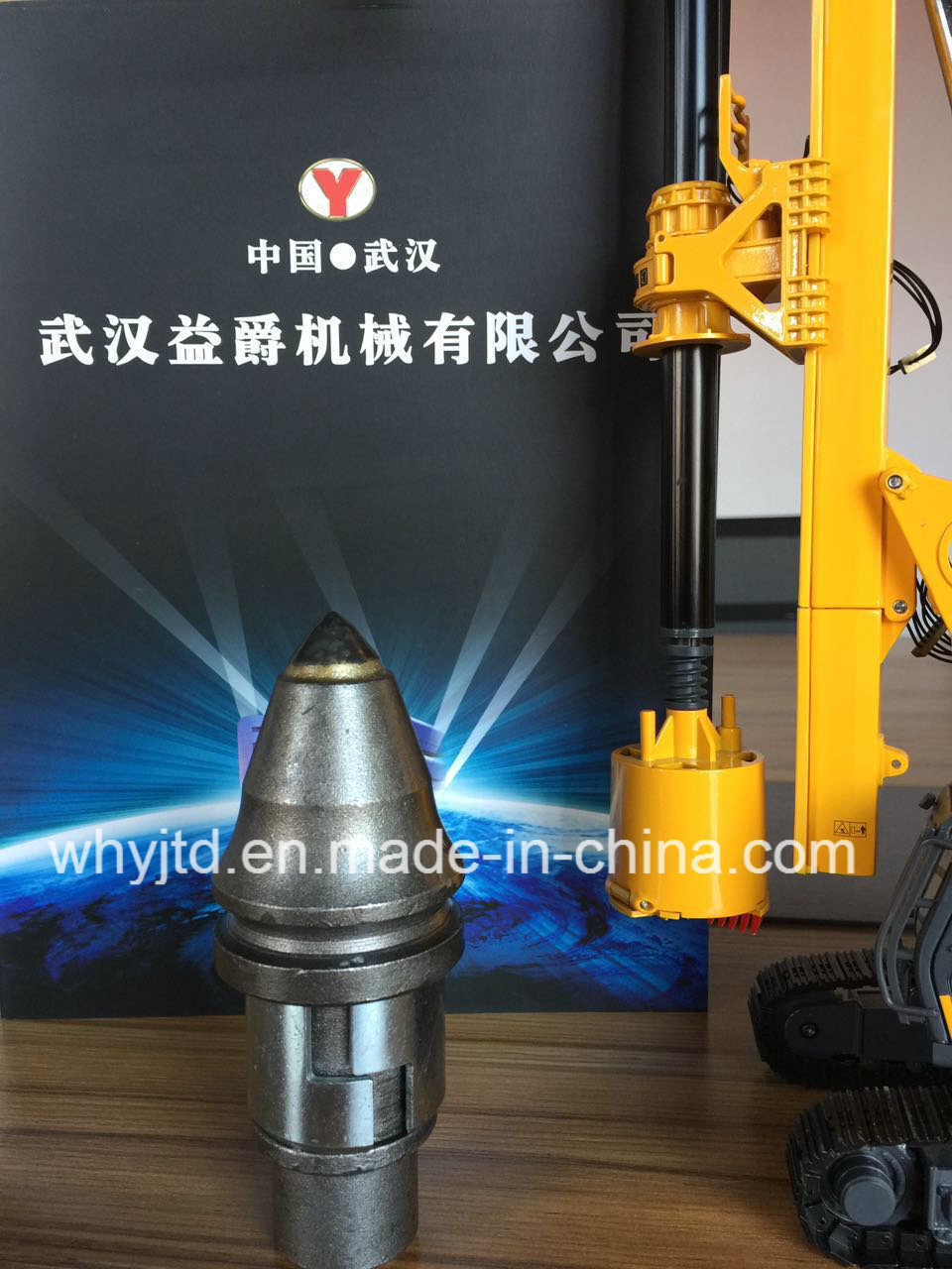 Pile Driver Drill Bit for Pile Driver