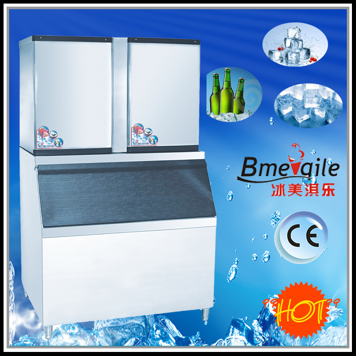 700 Kg/Day Ice Freezer Ice Cube Machine