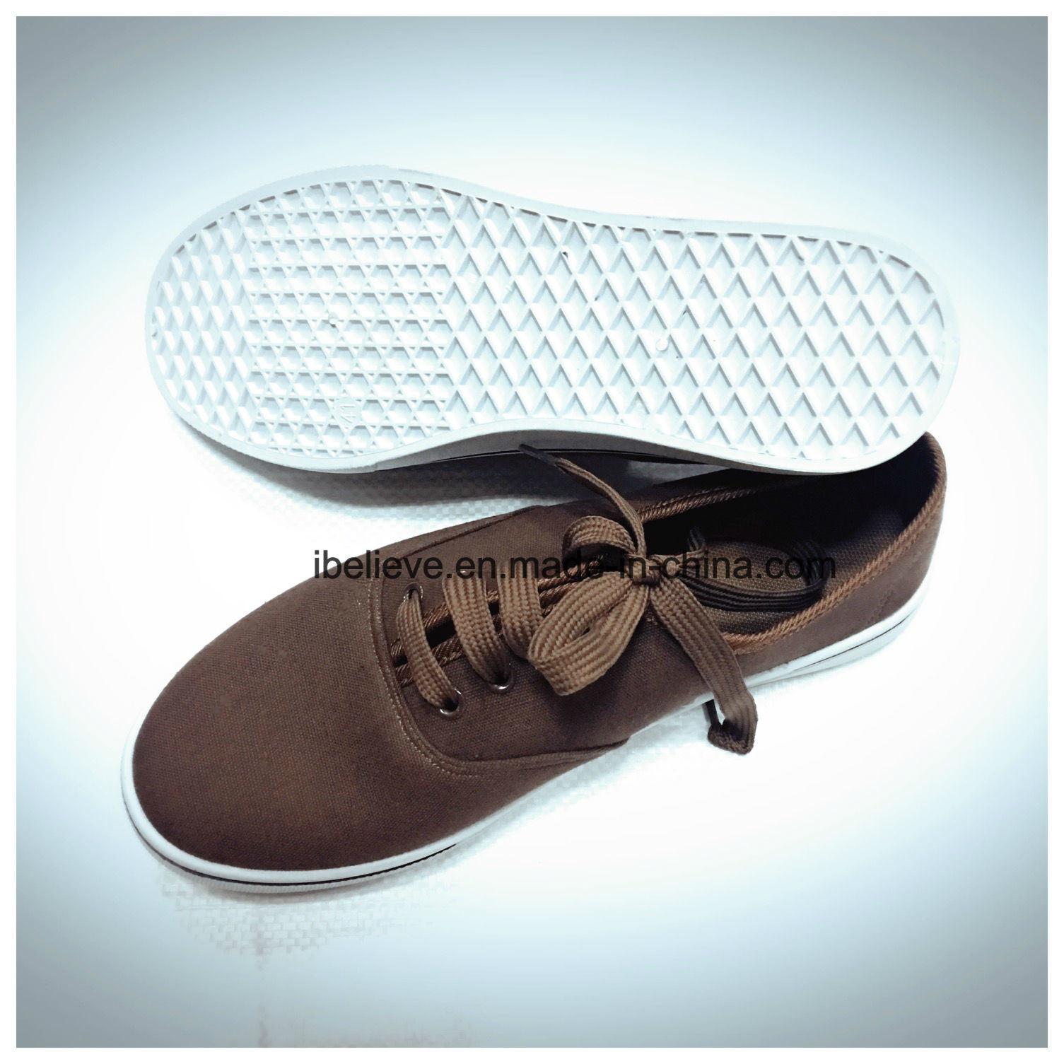 Dark Brown Color Flat Working Footwear