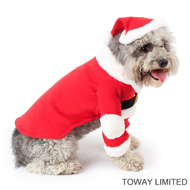 Christmas Pet Jumpsuit Dog Costume Pet Cosplay Clothes