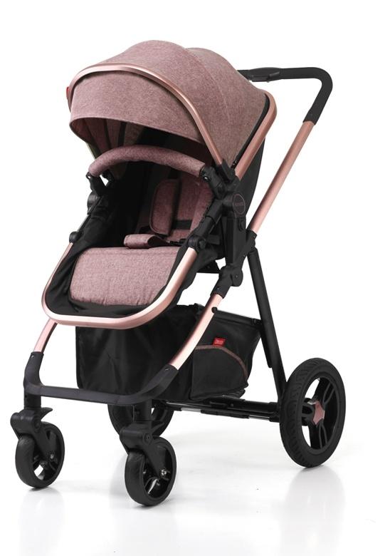 Aluminum Luxury European Fold Baby Stroller with Car Seat