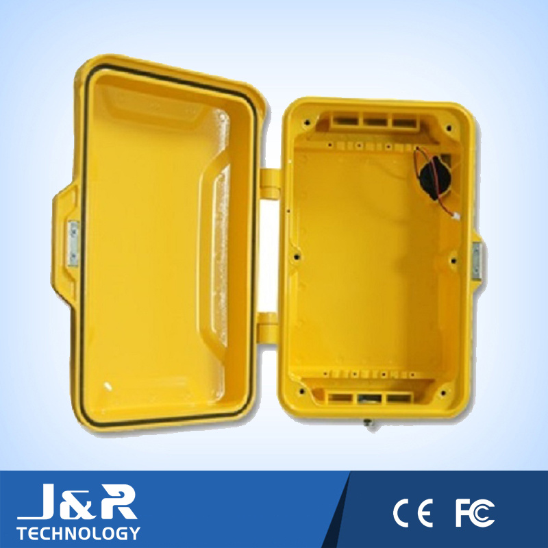 Aluminium Phone Shell, Industrial Phone Shell, Telecom Weather Resistant Shell