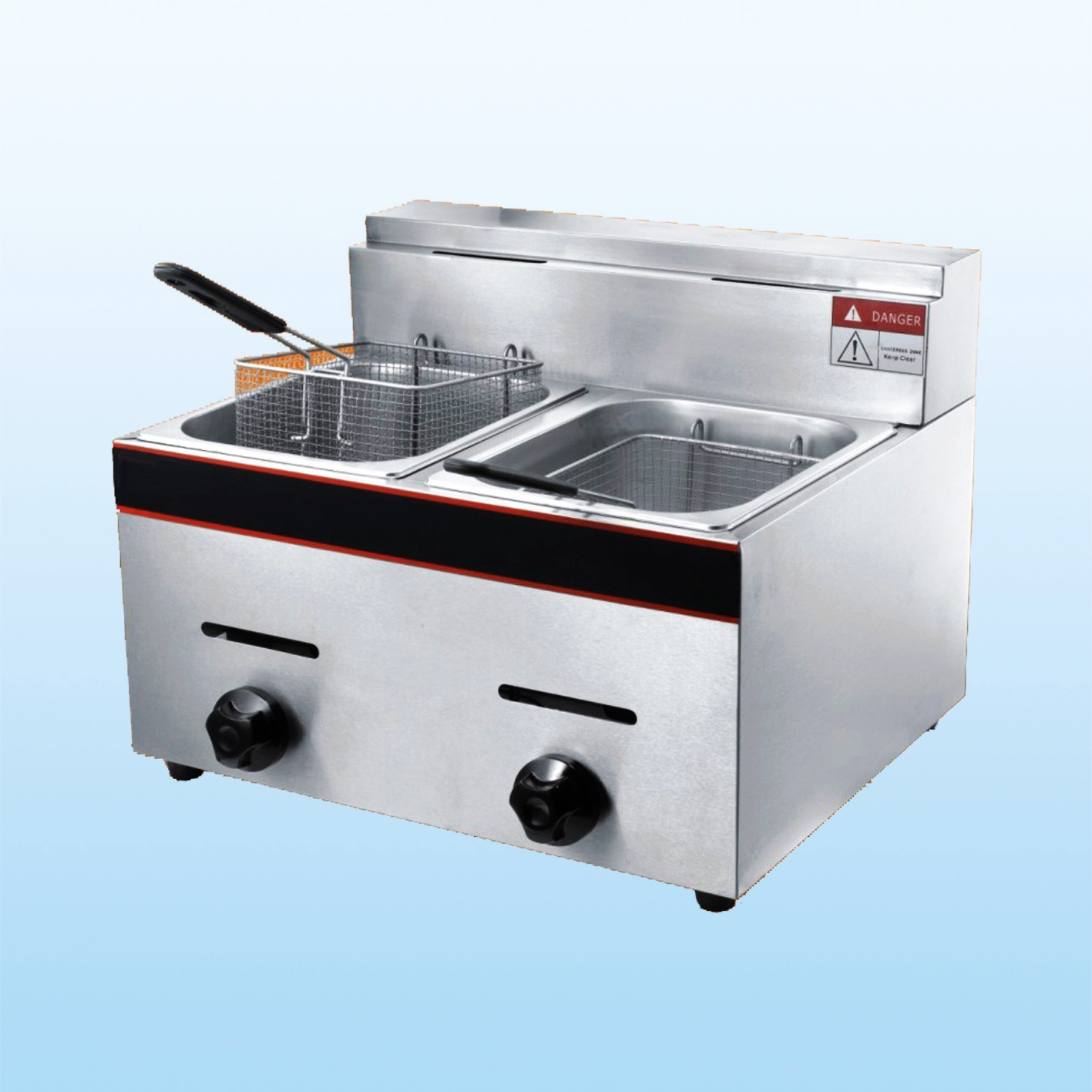 China Gas Fryer (DF-72) - China Gas Fryer, Deep Fryer