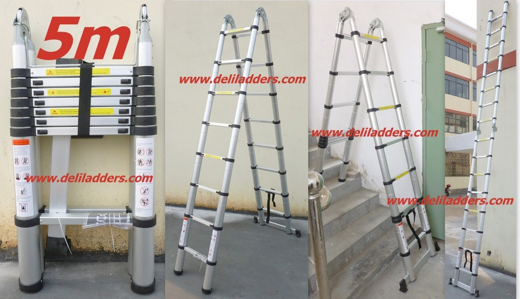 3 position telescopic ladder 5m dlt708 3 position telescopic ladder 5m dlt708 fournis par. Black Bedroom Furniture Sets. Home Design Ideas