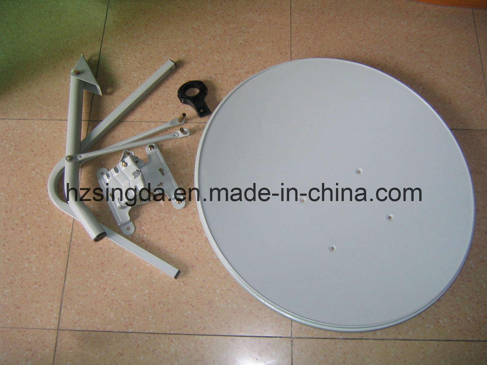 Ku Band satellite dish antenna universal with SGS Certification